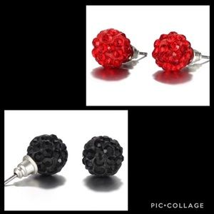 NEW✨ Crystal Ball Earrings ✨